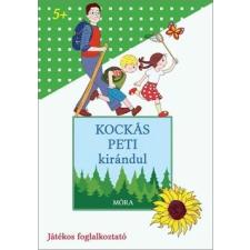 Móra Kiadó - KOCKÁS PETI KIRÁNDUL - JÁTÉKOS FOGLALKOZTATÓ gyermek- és ifjúsági könyv