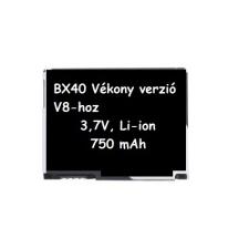 Motorola BX40 kompatibilis utángyártott akkumulátor (850mAh, Li-ion, V8)* mobiltelefon akkumulátor