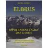 Mount Elbrus - Upper Baksan Valley térkép - West Col