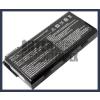 MSI 957-173XXP-101 4400 mAh 6 cella fekete notebook/laptop akku/akkumulátor utángyártott