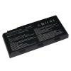 MSI GT663 6600 mAh 9 cella fekete notebook/laptop akku/akkumulátor utángyártott