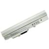 MSI Wind L1350 2200 mAh 3 cella fehér notebook/laptop akku/akkumulátor utángyártott