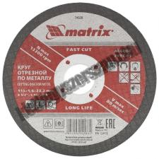 MTX vágókorong fém 115x1,6x22,23mm csiszolókorong és vágókorong