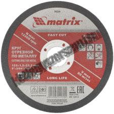 MTX vágókorong fém 125x1,2x22,23mm csiszolókorong és vágókorong