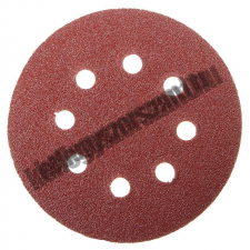 MTX Velcro csiszoló korong perforált, P 40 125 mm Mtx barkácsolás, csiszolás, rögzítés