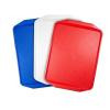 Műanyag tálca, 43x28 cm, piros