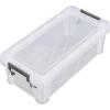 Műanyag tárolódoboz, átlátszó, 1,3 liter,