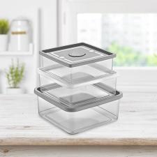 Multi box ételtartó szett, 3 darabos papírárú, csomagoló és tárolóeszköz