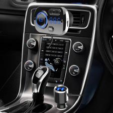 Multifunkciós, szivargyújtós Bluetooth autós töltő mobiltelefon kellék