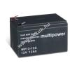 Multipower Helyettesítő akku típus 6-DZM-12 (MULTIPOWER) ciklusálló