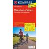 Münchens Süden (Starnberger See - Ammersee) kerékpártérkép - Kompass FK 3120
