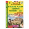 Muránska planina, Slovenské rudohorie-západ / Murányi-fennsík–Gömör-Szepesi-érchegység turista- és kerékpáros térkép/ Shocart