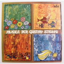 Musica per Quattro Stagioni LP (VG/EX) ITALY jazz