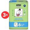 MUUMI BABY Walkers Junior 6-os méret - havi EKO bugyipelenka csomag (108 db)