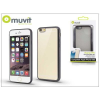 Muvit Apple iPhone 6/6S hátlap - Muvit Frame TPU - clear/black