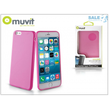 Muvit Apple iPhone 6 Plus/6S Plus hátlap - Muvit miniGel - pink tok és táska
