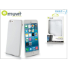 Muvit Apple iPhone 6 Plus/6S Plus hátlap - Muvit miniGel - white