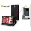 Muvit HTC One (M9) flipes tok kártyatartóval - Muvit Wallet Folio - black