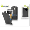 Muvit HTC One Mini flipes tok - Muvit Slim - black
