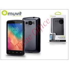 Muvit LG L60 X145 hátlap - Muvit miniGel - black tok és táska