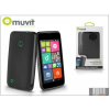 Muvit Nokia Lumia 530 hátlap - Muvit miniGel - black