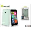 Muvit Nokia Lumia 530 hátlap - Muvit miniGel - transparent