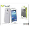 Muvit Samsung i9190 Galaxy S4 Mini hátlap - Muvit Clear Back - transparent
