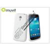Muvit Samsung i9190 Galaxy S4 Mini hátlap - Muvit miniGel - white