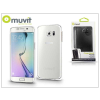Muvit Samsung SM-G928 Galaxy S6 Edge+ hátlap - Muvit Clear Back - clear