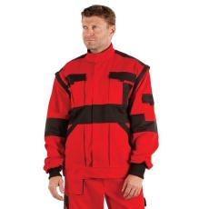 MV piros/fekete MAX kabát 44-68 méretek