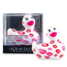 My Duckie Romance 2.0 - csókos kacsa vízálló csiklóvibrátor (fehér-pink) vibrátorok