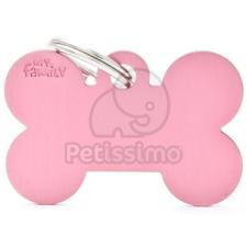 My family biléta - Világos rózsaszín Csont L (MFB09) kutyafelszerelés