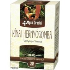 Myco Crystal Kínai hernyógomba Forte kapszula - 60db gyógyhatású készítmény