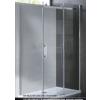 MyLine Virgo 90x90x195 cm íves zuhanykabin