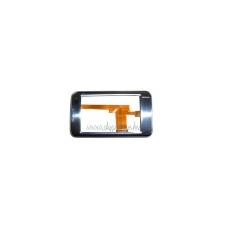 N810 előlap átvezető fóliával ezüst (swap) mobiltelefon előlap