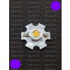 N/A 1W Power LED lila 110 Lumen 2100-2200K hűtőcsillagon