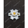 N/A 3W Power LED 4000K hűtőcsillagra szerelve 220 Lumen semleges fehér 2 év garancia