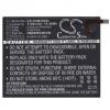 N/A Huawei MediaPad M3 8.4 5100 mAh LI-Polymer utángyártott akkumulátor (HB2899C0ECW kompatibilis)