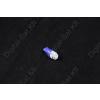 N/A LED izzó T10 12V 5050 5 smd kék