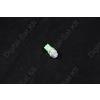 N/A LED izzó T10 12V 5050 5 smd zöld
