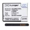 N/A Samsung Galaxy Young 2 1300 mAh LI-ION utángyártott akkumulátor (EB-BG130BBE kompatibilis)