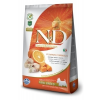 N&D Dog Grain Free Tőkehal & Narancs Sütőtökkel Adult Mini 2.5kg