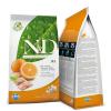 N&D GRAIN FREE HAL+NARANCS 12KG
