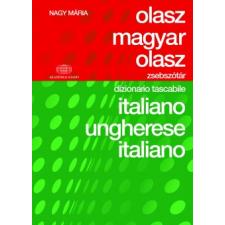 Nagy Mária OLASZ-MAGYAR-OLASZ ZSEBSZÓTÁR nyelvkönyv, szótár