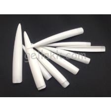 Nagyker 1. 12db Extra hosszú verseny tip (hegyes-fehér) tip