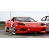 NagyNap.hu - Életre szóló élmények Ferrari 360 Replika Versenyautó Vezetés KakucsRing 3 kör