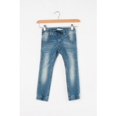 NAME IT , Tonny slim fit jeggings megkötővel, Világoskék, 92 CM Standard (13143725-MEDIUM-BLUE-DENIM-92)