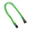 Nanoxia 4-Pin PWM hosszabbító - 30 cm - neon zöld