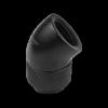 Nanoxia CF1 Fitting - 45 ° forgatható csatlakozó adapter G1 / 4