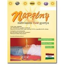 NapFény NAPFÉNY TESTGYERTYA NATÚR 10DB test- és fülgyertya